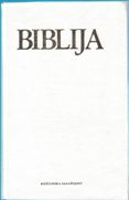 Biblija - Stari I Novi  Zavjet - WHITE COVER - Croatian Catholic Bible