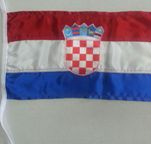 Croatian Flag 400mm X 200mm