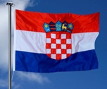 Croatian Flag 1000mm X 500mm