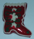 Licitar Fridge Magnet Small - Red Boot