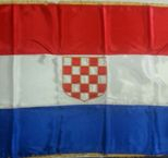 Croatian Flag 2000mm x 1000mm - Historical